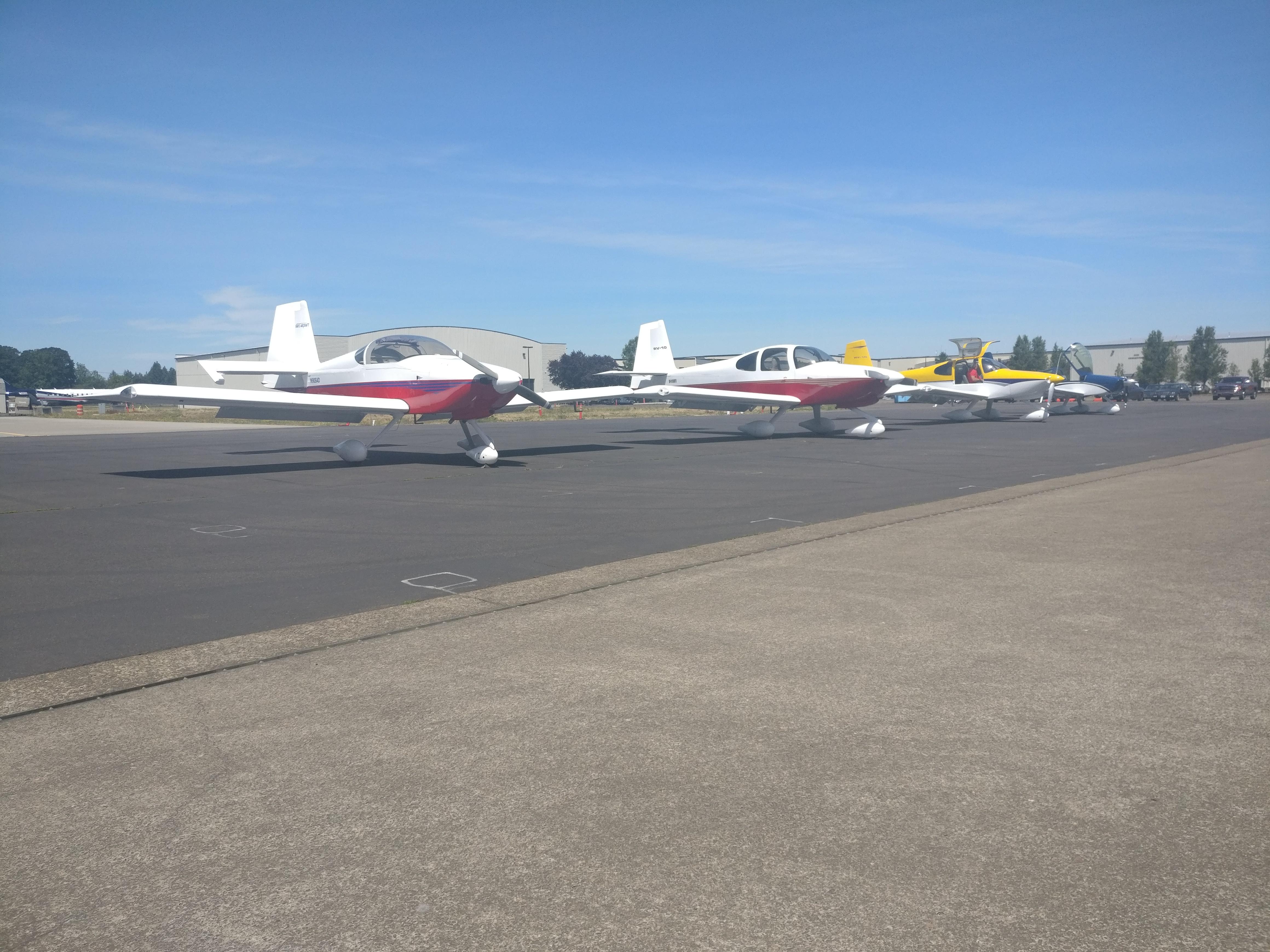 λ Tony's Blog λ - Van's Aircraft Factory visit 2019-06-10